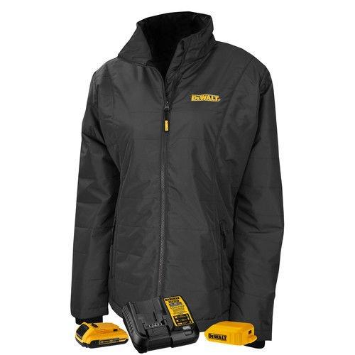 DEWALT DCHJ077D1-L Women's Quilted Heated Jacket, Large, Black by DEWALT