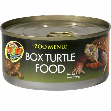 Zoo Med Box Turtle Food Canned Food (6 oz) (Box Turtle Canned Food)