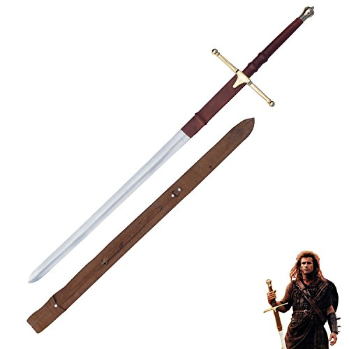 Sir William Wallace Braveheart Replica Epic Great Sword 42 Inch To 52 Inch Medieval Merchandise