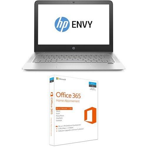 HP Envy (13-d101ng) 33,8cm (13,3 Zoll / FHD IPS) Notebook + Microsoft Office 365 Home 5PCs/MACs - 1 Jahresabonnement