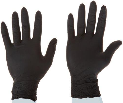 High Five Onyx N642 Series N64 Nitrile Exam Glove, Medium (Case of 10) by High Five