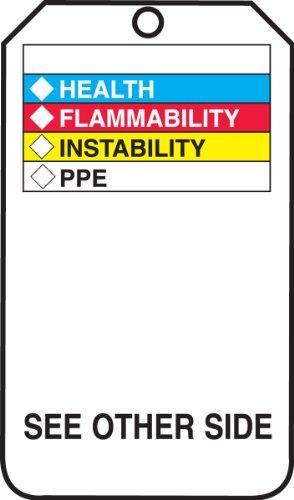 Accuform THS601CTP Hazardous Material Tag, Legend