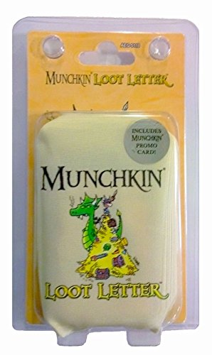 (AEG Munchkin Loot Letter Clamshell Edition Game)