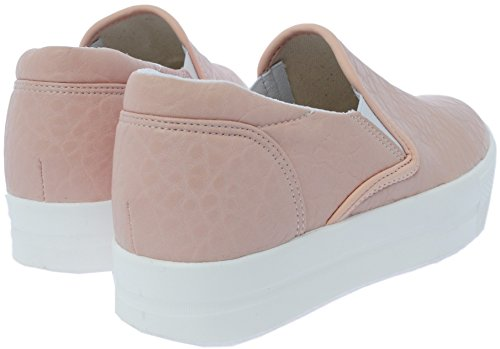 Slip Maxstar White Sneakers Synthetic Leather on 30 Platform Pink C7 HqIYrH
