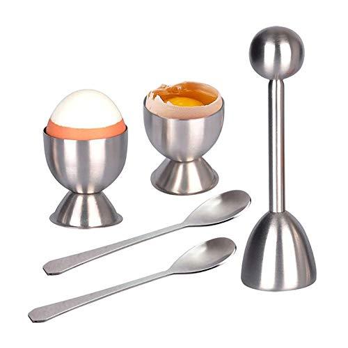 Egg Scissors - 304 Stainless Steel Egg Maker Sheller Eggshell Cutter Uhjsd - Shell Cutter Scissors Scissors Boiler Kitchen Roll Boil Crepe Maker Poacher Flip Pancake Tool Cooker Omelet ()