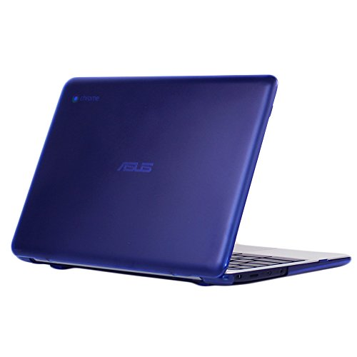 iPearl mCover Hard Shell Case for 11.6 ASUS Chromebook C201 Series Laptop - Blue