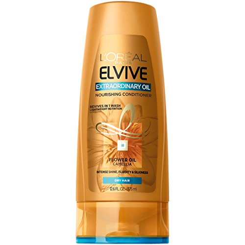 L'OrÃal Paris Elvive Extraordinary Oil Nourishing Conditioner, 12.6 Fl. Oz (Packaging May Vary) (Best Shampoo For Dry Frizzy Hair In India)