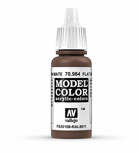 Vallejo Flat Brown Paint, 17ml