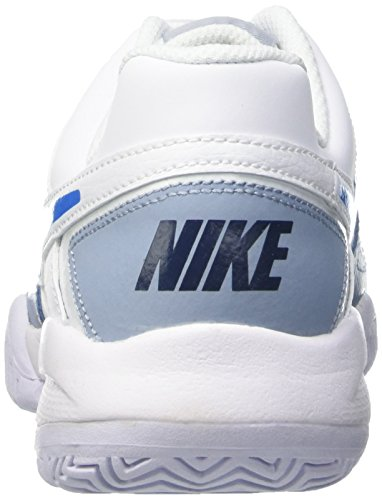 Nike City Court 7 (GS) Zapatillas de tenis, Niños Blanco / Azul / Gris (White / Photo Blue-Blue Grey)