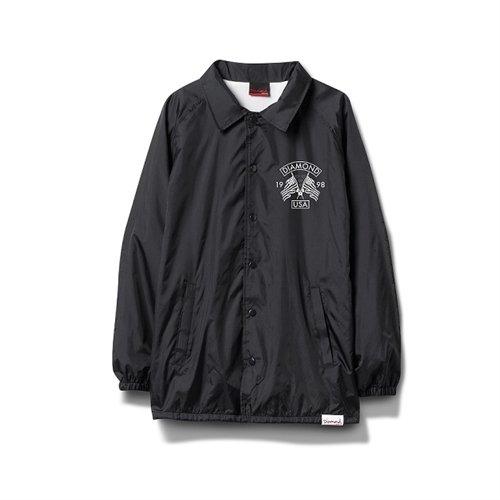 Diamond Usa Coaches Jacket Small Black Skate Jackets