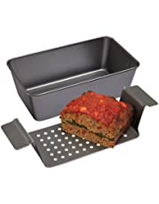 Lift and Serve Non-Stick Healthy Meatloaf Pan Set by Good Deal Goods