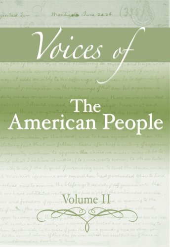 Voices of The American People, Volume 2