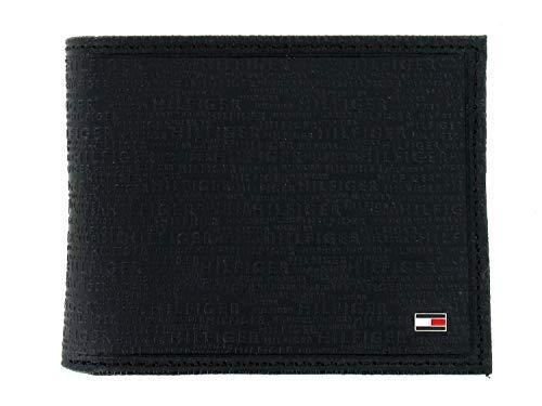 Tommy Hilfiger Mens Black Bi-Fold Wallet