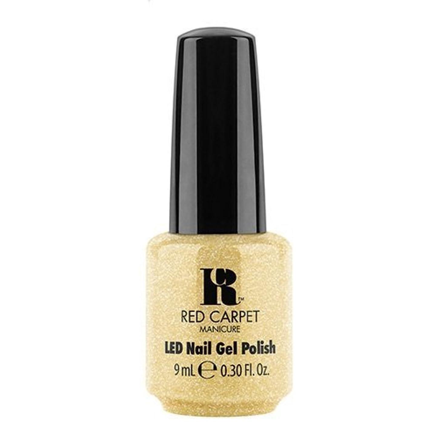 つかむ海嶺救いRed Carpet Manicure - LED Nail Gel Polish - Nice Nunchucks - 0.3oz / 9ml