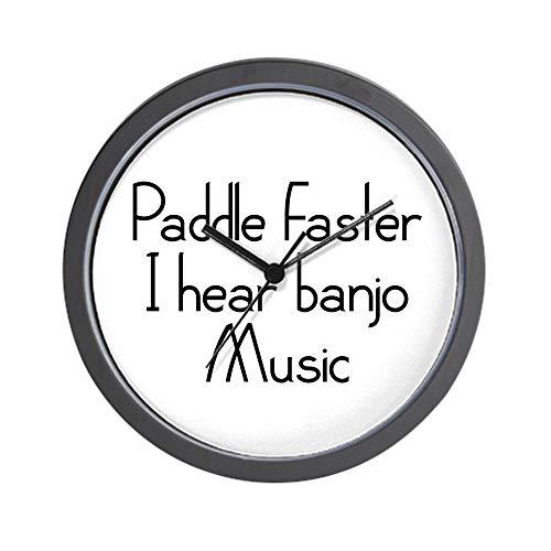 CafePress Paddle Faster I Hear Banjo Music Unique Decorative 10