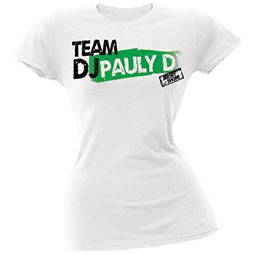 Jersey Shore - Womens Team Dj Pauly D Ladies T-shirt Small - D Pauly Dj Shore Jersey