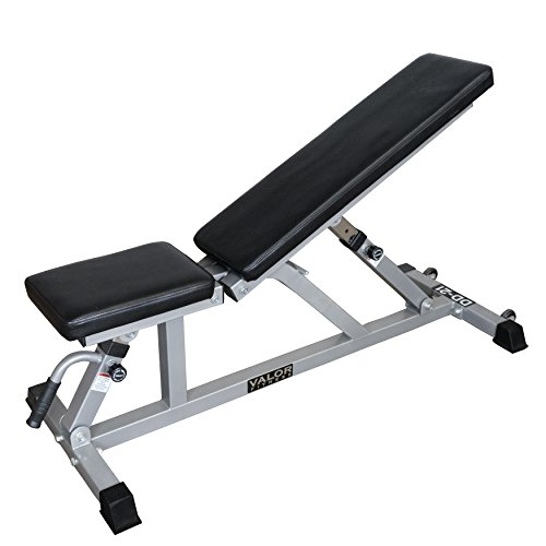 Valor Fitness DD-21 Incline Flat Utility Bench with Wheels