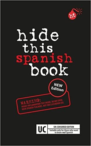 Amazon Com Hide This Spanish Book Hide This Book Spanish And