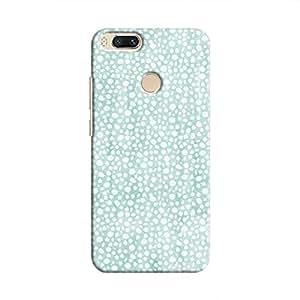 Cover It Up - Blue Pebbles Mosaic Mi A1 Hard Case