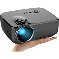 V2 LED LCD (WVGA) Mini Video Projector - International Version (No Warranty) - DIY Series - Black (FP8048V2-IV6)