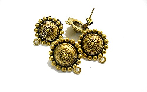 Design 6 Jewellery (GOELX Antique Studs For Ear-Rings & Jewellery Design 6)