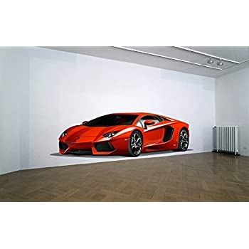 Lamborghini WALL DECAL REMOVABLE REPOSITIONABLE