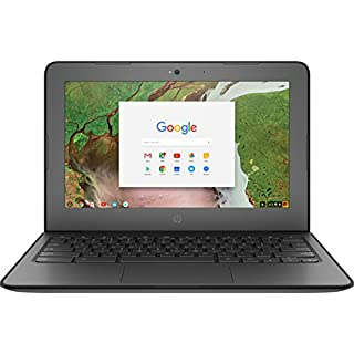 "HP 3NU57UT Chromebook (Chrome OS, Intel CN3350, 11.6"" LED-Lit Screen, Storage: 16 GB, RAM: 4 GB) Black"