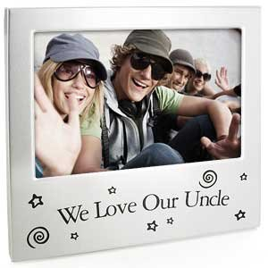 we love our uncle photo frame