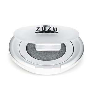 Zuzu Luxe Natural Powder Eye Shadow Gem Charcoal Black Shimmer 2 Grams