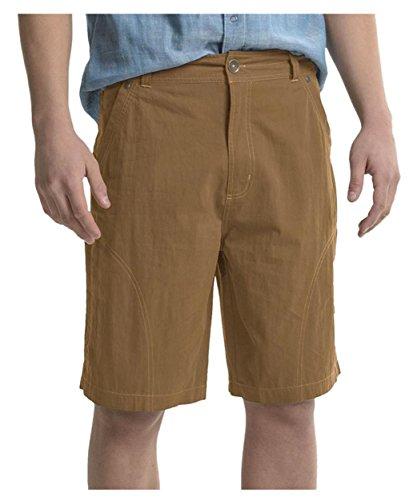 Pacific Trail Men's Cotton-Nylon Shorts, Desert Khaki, Size 40