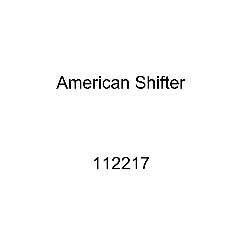 Green Unlocked Symbol American Shifter 112217 Red Stripe Shift Knob with M16 x 1.5 Insert