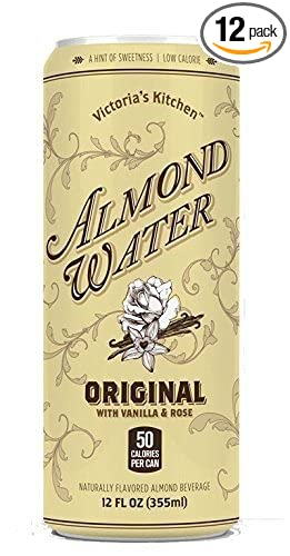victorias kitchen almond water original 12 oz 12 piece - Victorias Kitchen Almond Water