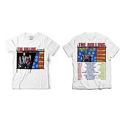 Rolling Rock and Roll Band Lovers Stone No-Filter 2019 T-Shirt White