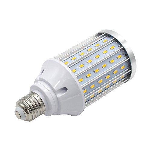 Mininono High Power LED Bulb 25W Aluminum High Power Corn Light Bulb, 108LEDs 200W Halogen Bulbs Replacement, Warm White 3000K Medium Edison E26/E27 Base Super Bright LED Lamp by Mininono (Image #3)