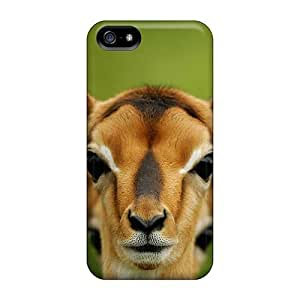 Premium Iphone 5/5s Case - Protective Skin - High Quality For Animals Giraffes Deer Camels Zebras Artiodactyls Antelope