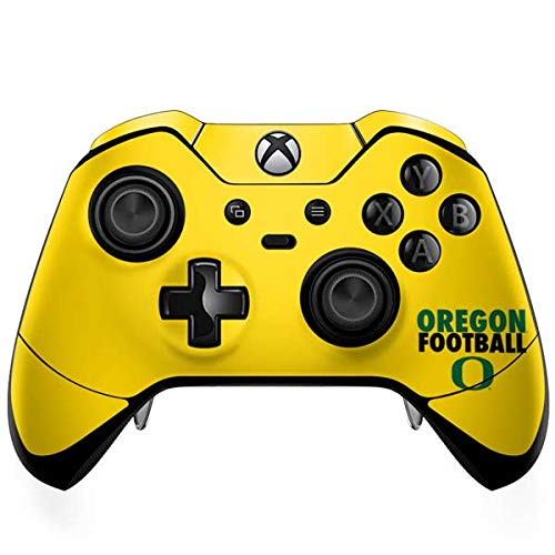 (Skinit Oregon Ducks Football Xbox One Elite Controller Skin - Officially Licensed Fermata College Gaming Decal - Ultra Thin, Lightweight Vinyl Decal Protection)