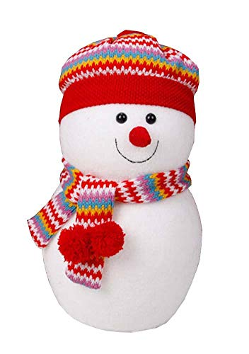 Lovely Cute Snowman Decor Home Hotel Christmas Decor Nice Gift Red