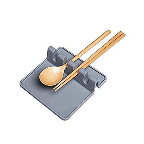 Amazon.com: Soporte para cuchara de silicona utensilios ...