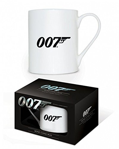 Set: James Bond 007, 007 Logo Photo Coffee Mug (4x3 inches) And 1x 1art1 Surprise Sticker