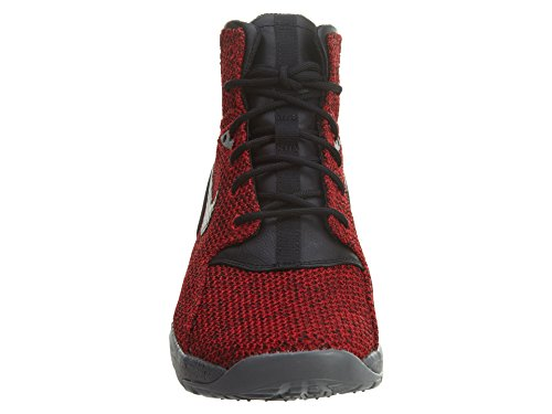 Nike Koth Ultra Mid KJCRD del hombres Casual zapatos Gym Red/Black-Dark Grey