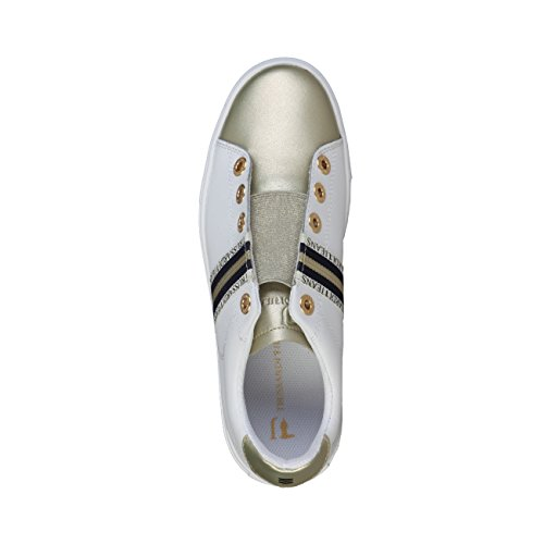 Jeans 79S523 Bianco Trussardi Sneakers Mujer SwqYc0Bd