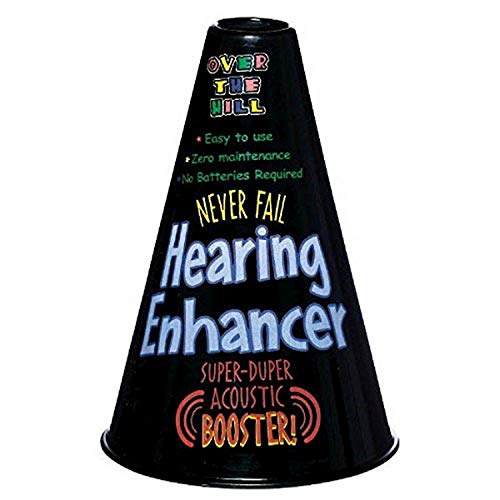 Over the Hill Hearing Enhancer 75th Birthday Gag Gift