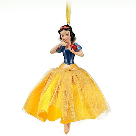 Disney Snow White 'Love's First Kiss' Sketchbook Ornament