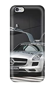 Perfect Sls Front And Pilot Silver Mecedes Benz Cars Mercedes Case Cover Skin For Iphone 6 Plus Phone Case
