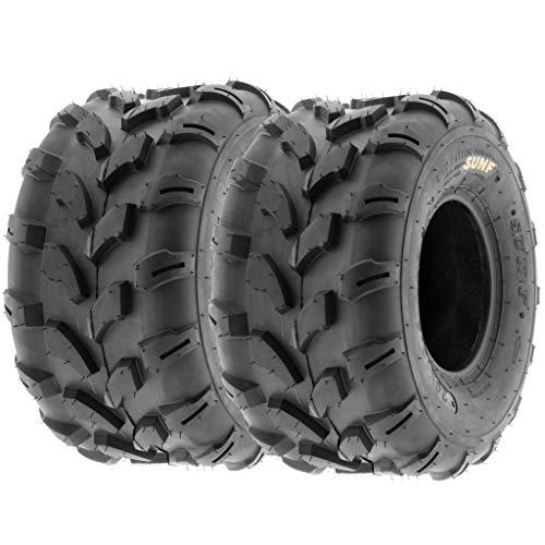 - SunF A003 ATV/UTV/Lawn-Mowers Off-Road Tire 20x10-8, 6 PR, Directional Tread (Pair of 2)