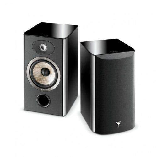 Focal Aria 906 2-Way Bass Reflex Bookshelf Speakers – Pair (Black Piano Lacquer)