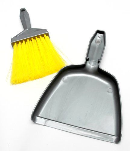 Mr. Clean Mini-Sweep Compact Dustpan And Brush Set , Colors may (Mini Dust Pan)