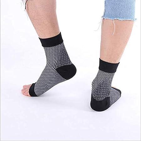 ... tendinitis de aquiles, transpirable, ayuda con distensiones, esguinces, inestabilidad, debilidad y tobillos artríticos. Par de calcetines, unisex, ...