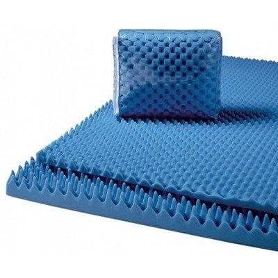 Lumex 7-4000FC Convoluted Foam Mattress Pads Size: 4'' Full 52x72x4