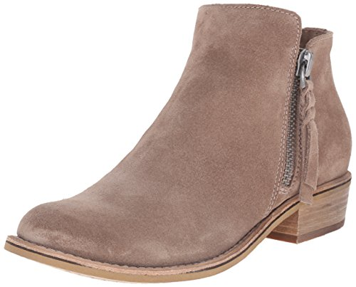 Dolce Vita Women's Sutton Ankle Bootie, Dark Taupe Suede, 6 UK/6 M - Designer Boots Uk Ladies